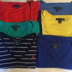 Ralph Lauren Tee Shirts Bundle